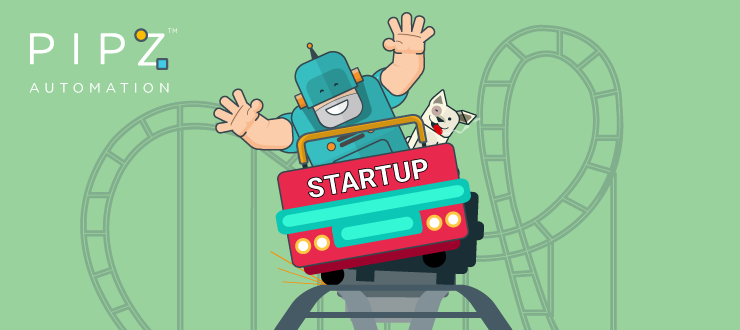 Managing a startup is like riding a roller coaster