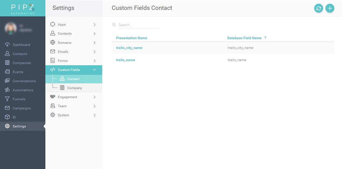 Como criar campos personalizados no form